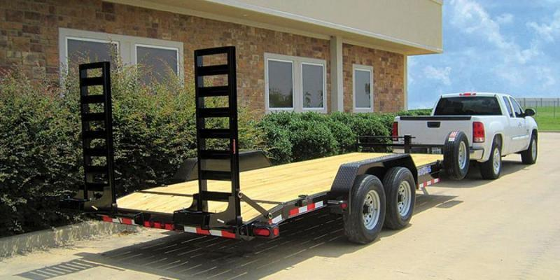 2018 Load Trail 83x20  Skidloader Trailer