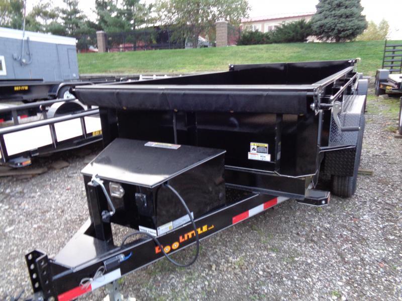 2019 Doolittle Trailer Mfg 72x10 Master Dump 10000lb GVWR Dump Trailer