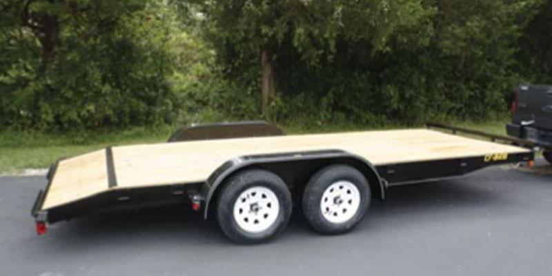 2018 Doolittle Trailer Mfg 84x20 CF Car Trailer Utility Trailer