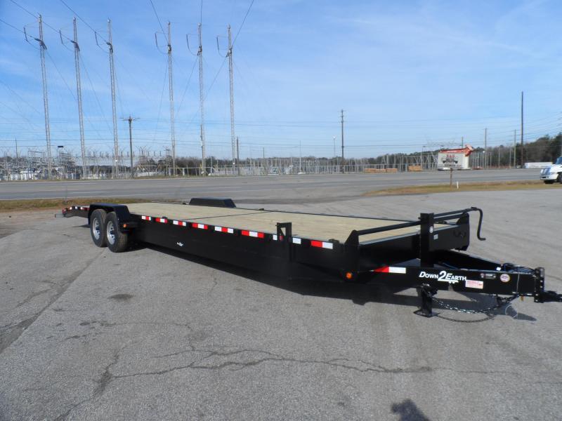 2019 Down 2 Earth Trailers 34 2 Car Hauler Channel in Ashburn, VA