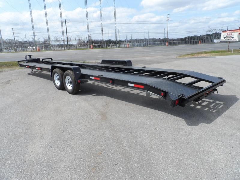 "2019 Superior Trailers 34 2 Car Hauler 8"" Channel"