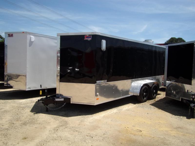 2019 Covered Wagon Trailers 7x16 MCP Bk ramp door Enclosed Cargo Trailer in Ashburn, VA
