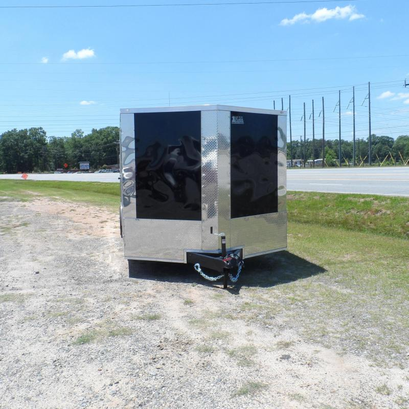 2019 Covered Wagon Trailers 8.5x24 MCP Black Finished  ramp door Enclosed Cargo