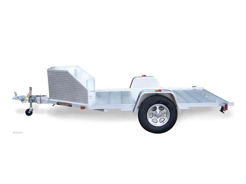 2019 Aluma double motorcycle trailer