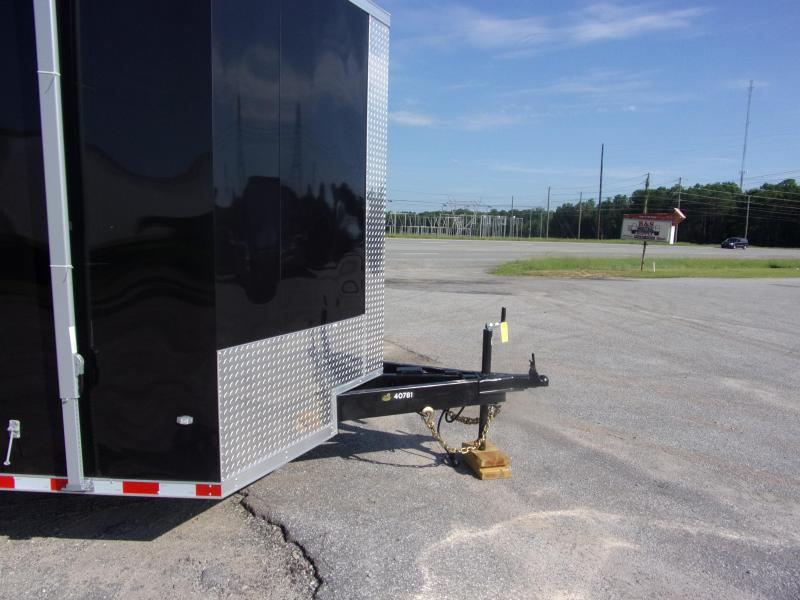 2019 Covered Wagon Trailers 8.5x28 Torsion axles ramp door Enclosed Cargo