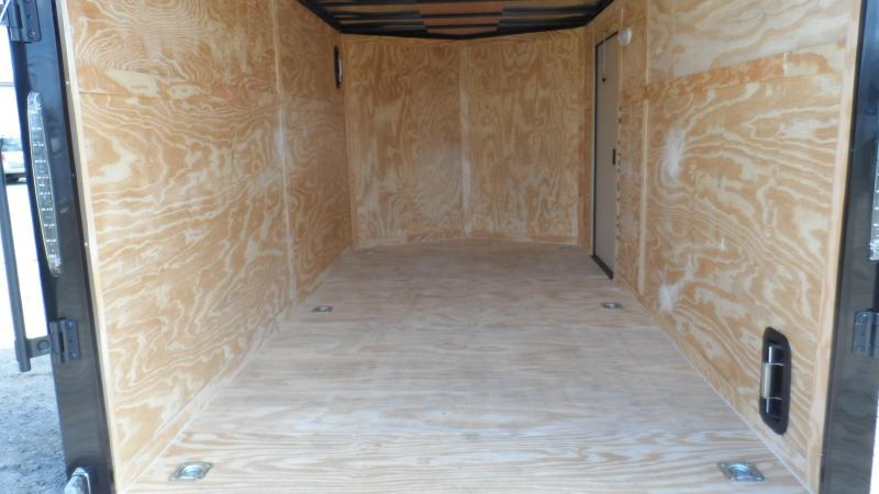 2019 Covered Wagon Trailers 7x14 Blackout ramp door Enclosed Cargo Trailer