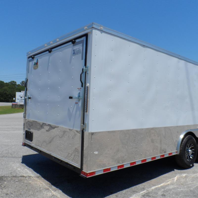 2019 Covered Wagon Trailers 8.5x28 MCP Wh 7k Torsion axles ramp door Enclosed Cargo
