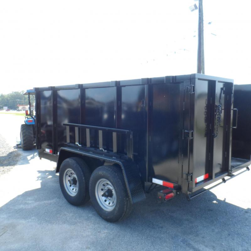 2019 Down 2 Earth Trailers 7x12 48 high side 14k Dump Trailer