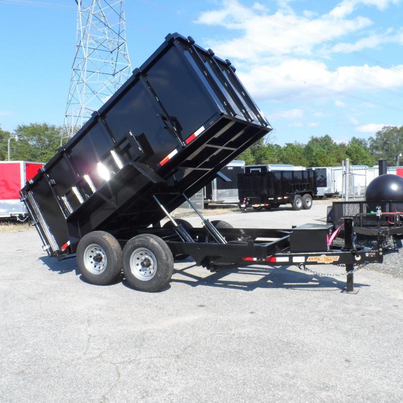 2019 Down 2 Earth Trailers 7x12 48 high side 14k Dump Trailer in Ashburn, VA
