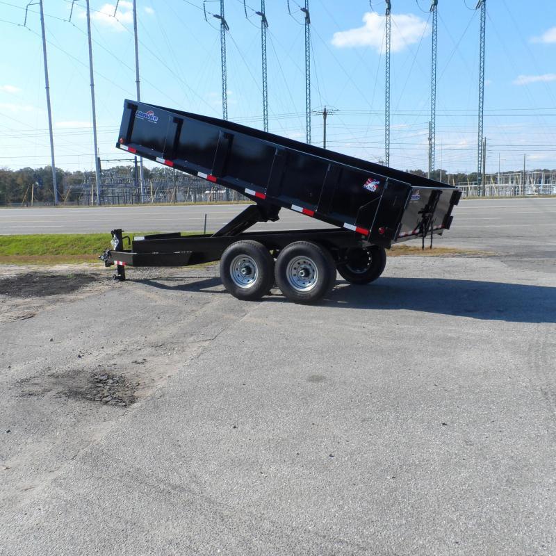 2019 Hawke 8x14 24 high side 14k Deck Over Dump Trailer