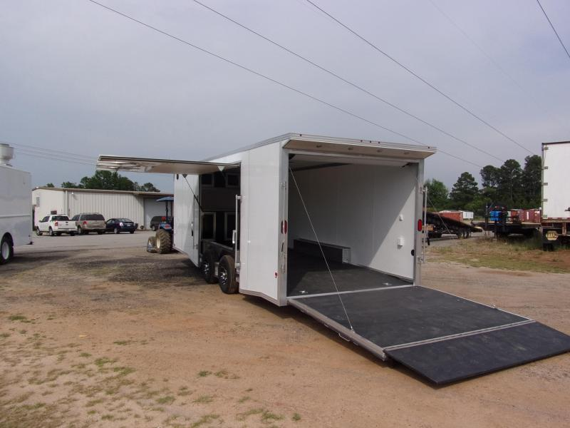 2019 Mission 8.5x24 Wh spread axle ramp door Elite Ecsape door Enclosed Cargo Trailer in Ashburn, VA