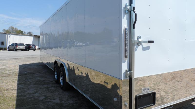 2019 Covered Wagon Trailers 8.5x28 MCP Wh Torsion axles ramp door Enclosed Cargo
