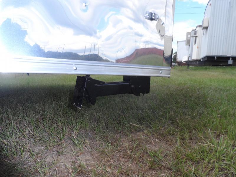 2019 Quality Cargo 6x10 MCP ramp door  White Enclosed Cargo Trailer