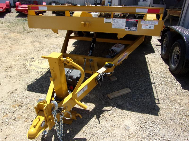 2019 Hawke Trailers equipment 80x20 15k Hydraulic tilt deck Equipment Trailer