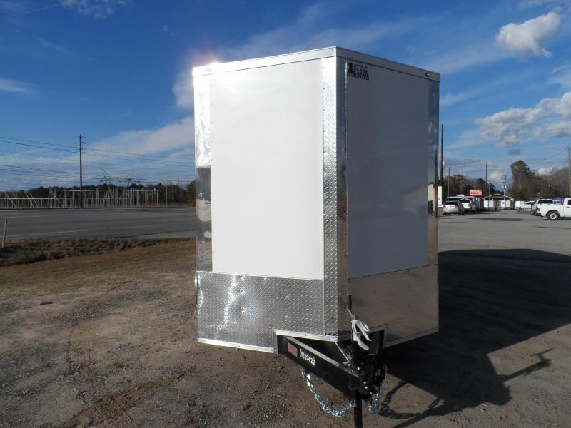 2019 Covered Wagon Trailers 7x16 Wh 7' interior ramp door Enclosed Cargo Trailer