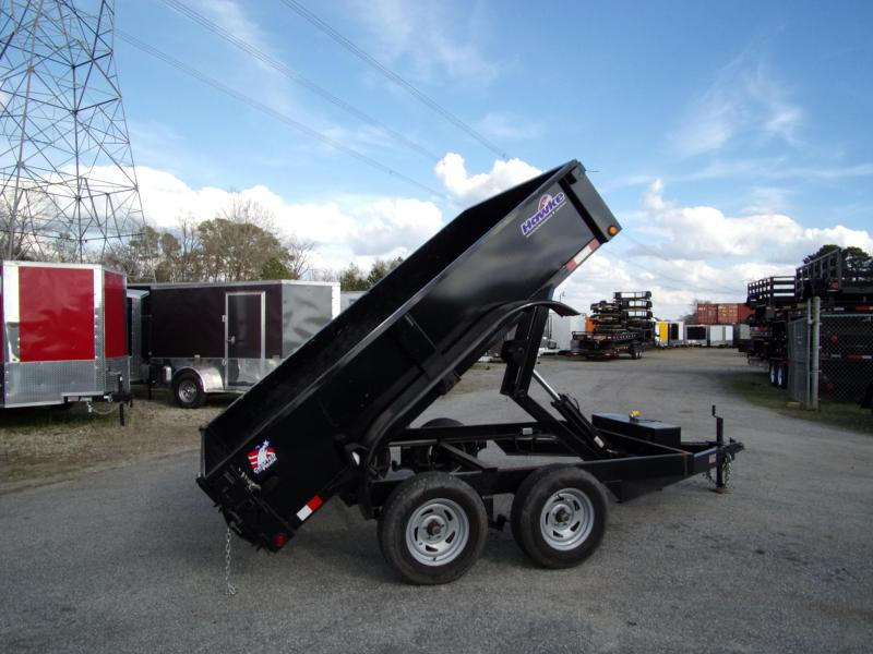 2019 Hawke 6x10 24 high side 7k Cardinal Dump Trailer