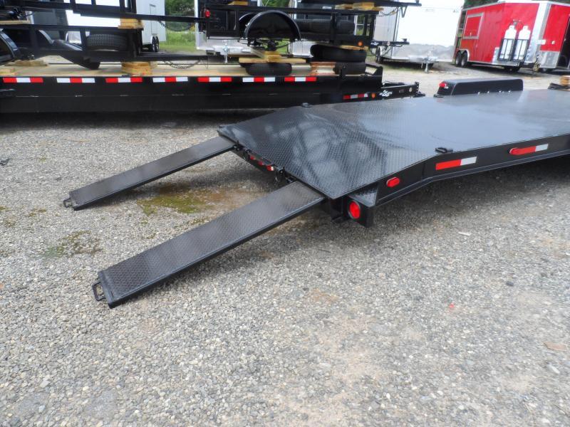 "2019 Superior Trailers 34 2 Car Hauler 8"" Channel Steel Deck"