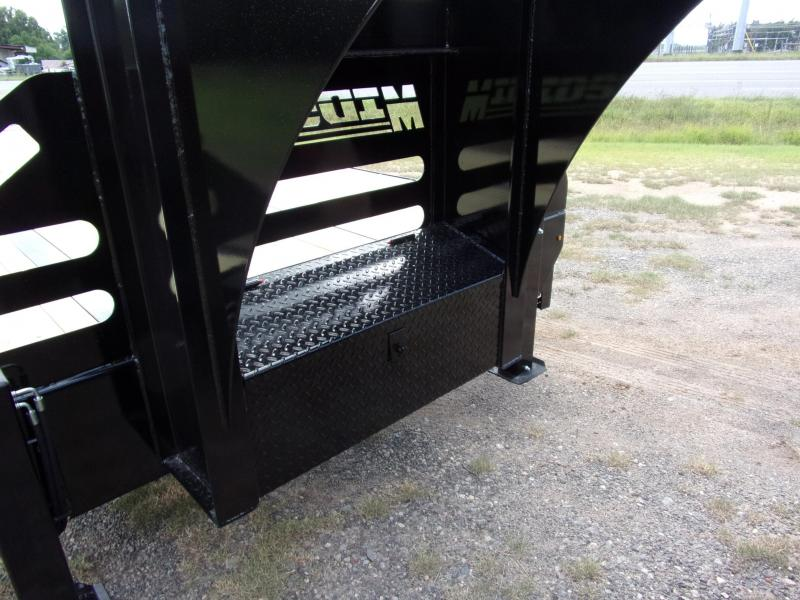 2019 Midsota 102 X 40 Gooseneck Equipment Trailer