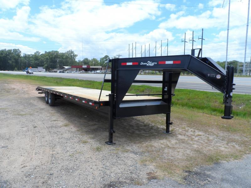 2019 Down 2 Earth Trailers 34 2 Car Hauler Gooseneck