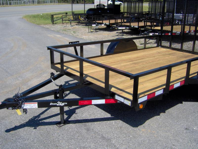 2019 Down 2 Earth Trailers 6x10ut Utility Trailer