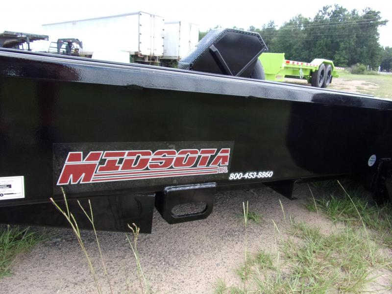 2019 Midsota SL-12RA Equipment Trailer