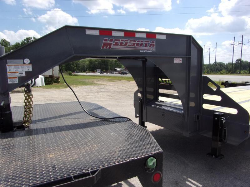 2019 Midsota 102 X 32 Gooseneck Equipment Trailer
