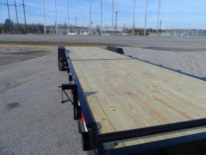 "2019 Down 2 Earth Trailers 34 2 Car Hauler wood deck 10"" I beam"
