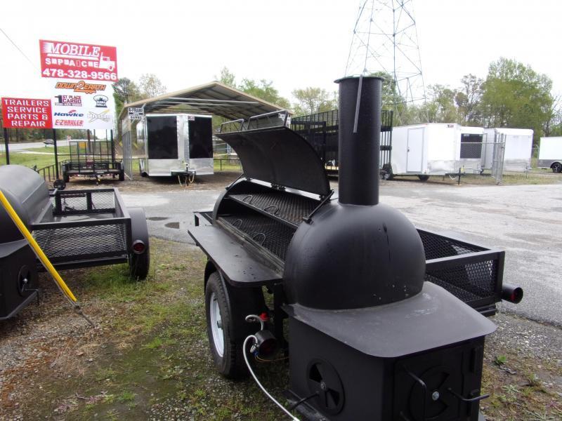 2019 Bubba Grills  250R510 Reverse Flow Smoker Vending / Concession Trailer