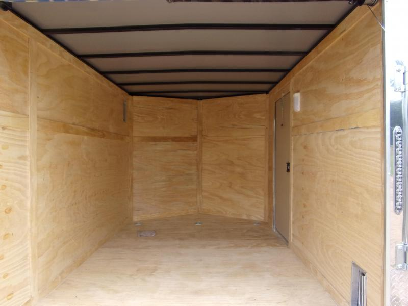 2019 Covered Wagon Trailers 7x16 MCP Wh ramp door Enclosed Cargo Trailer