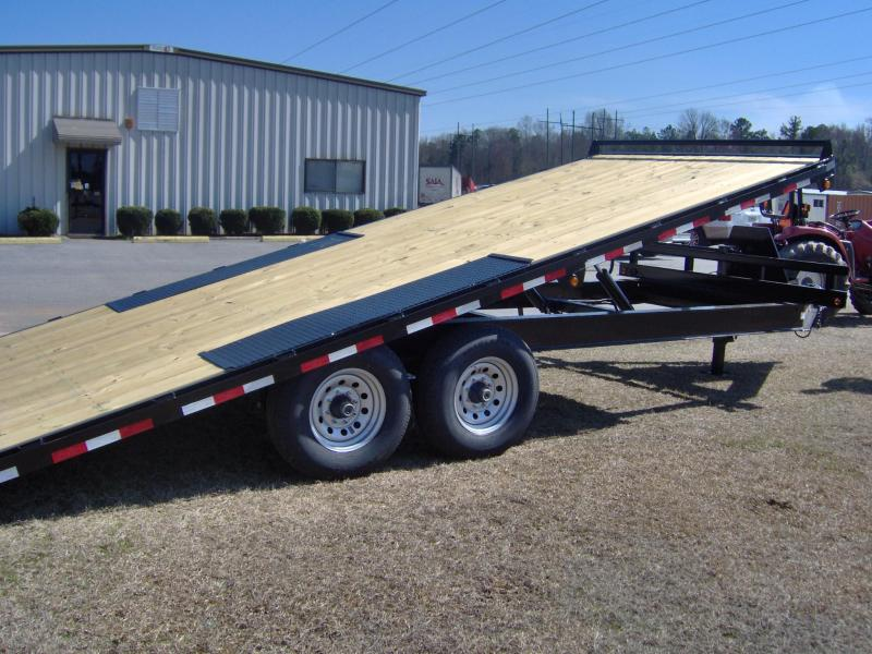 2019 Down 2 Earth Trailers 8x22 tilt 14k Equipment Trailer