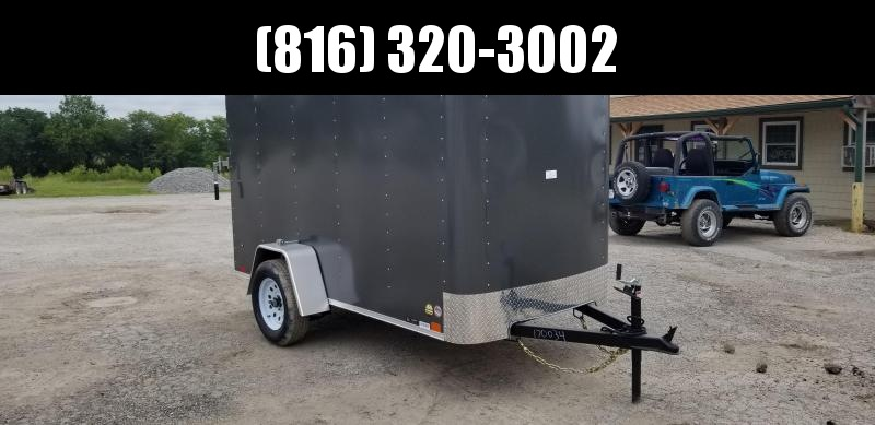 2020 UNITED 5x10x5.5 ENCLOSED CARGO TRAILER