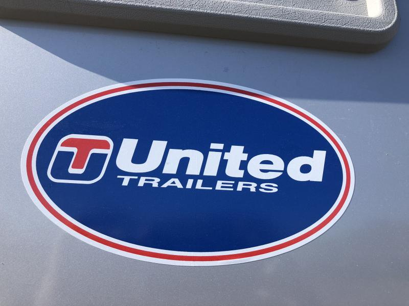 2019 UNITED 7 X 16 X 6.5 ENCLOSED CARGO TRAILER