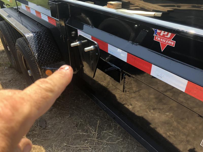 2018 PJ TRAILERS 83X14 BUMPER DUMP LOPRO TRAILER