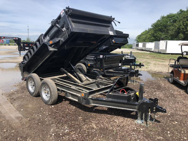 2018 IRON BULL 60 X 10 MINI DUMP TRAILER in De Witt, MO
