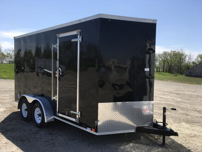 2018 UNITED 7 X 14 X 7 ENCLOSED CARGO TRAILER
