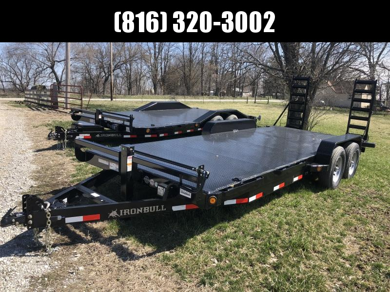 2019 IRON BULL 83X20 EQUIPMENT HAULER TRAILER in Ashburn, VA