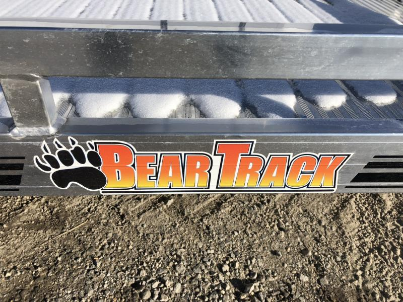 2019 BEAR TRACK 81 X 17 ALL ALUMINUM TILT UTILITY TRAILER