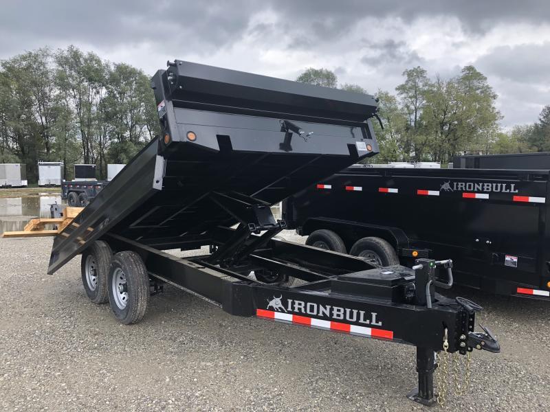 2019 IRON BULL 96X12 BUMPER DUMP DECK OVER TRAILER in Ashburn, VA