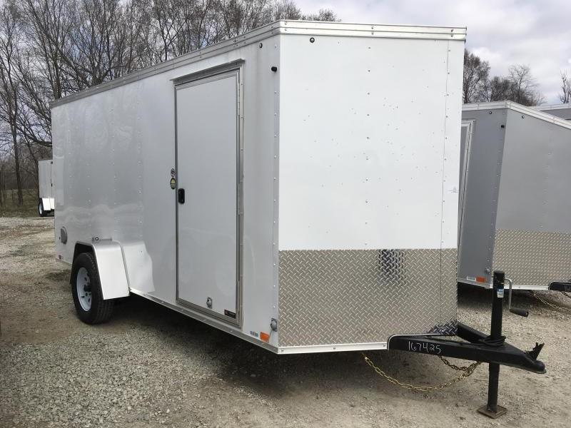 2019 UNITED 6 X 14 X 6 ENCLOSED CARGO TRAILER