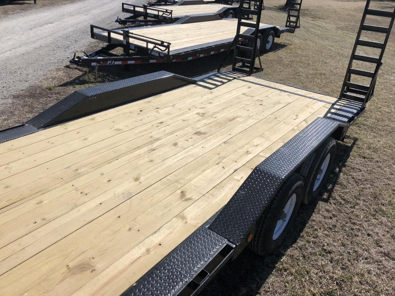 **SUPER SALE!** 2018 PJ TRAILERS 102X22 SUPER-WIDE EQUIPMENT HAULER TRAILER
