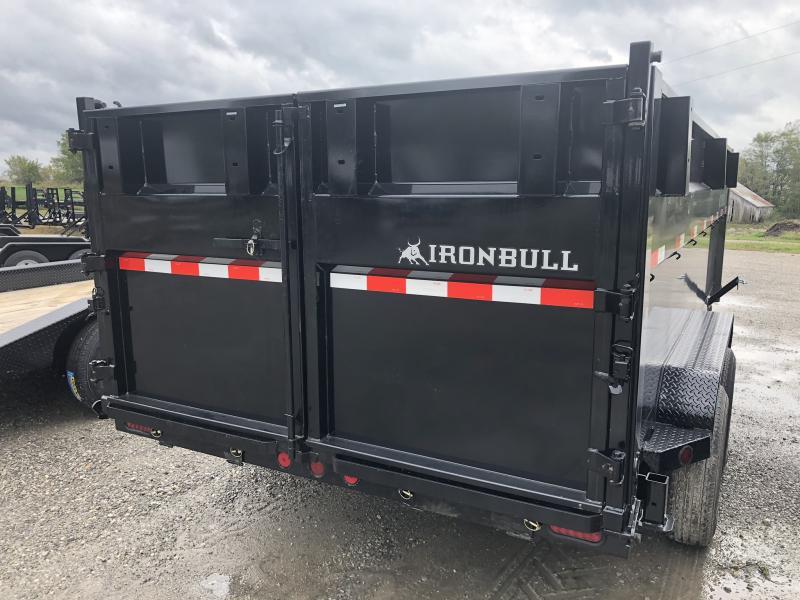 "2019 IRON BULL 83x16 GOOSENECK DUMP TRAILER WITH 48"" SIDES"