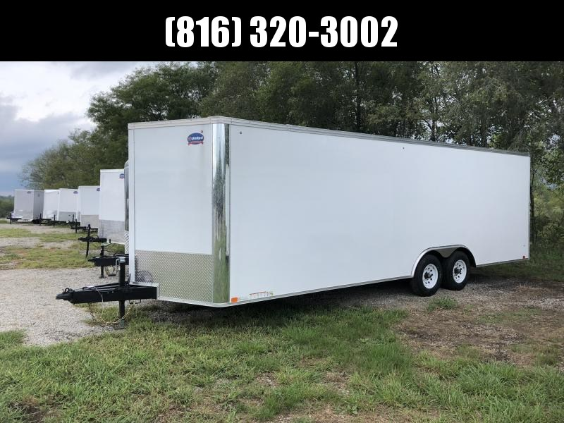 2019 UNITED 8.5 X 27 X 6.5 ENCLOSED CARGO TRAILER