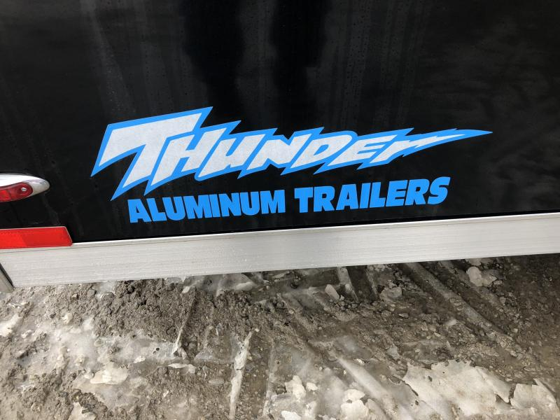 2019 LEGEND 7 X 18 X 6 ALL ALUMINUM CARGO TRAILER WITH TORSION AXLES