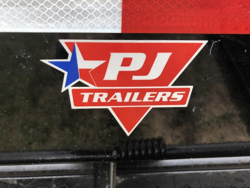 2018 PJ TRAILERS 102X20 BUMPER DECKOVER FLATBED TRAILER
