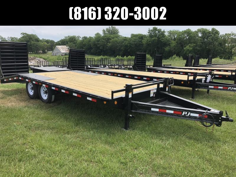 2019 PJ TRAILERS 102X20 BUMPER DECKOVER FLATBED TRAILER in Ashburn, VA