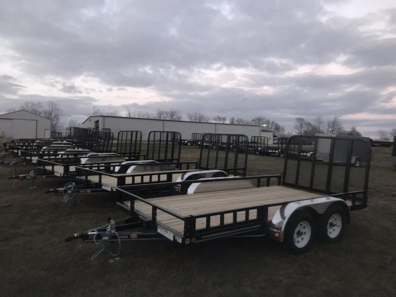 2019 IRON BULL 83X22 EQUIPMENT HAULER TRAILER