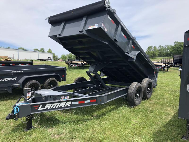 2018 LAMAR TRAILERS 83X14 LOPRO BUMPER DUMP TRAILER in Dawn, MO