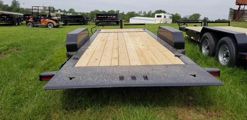 2019 IRON BULL 83X20 TILT LOPRO EQUIPMENT HAULER TRAILER
