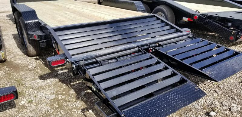 2019 IRON BULL 83X 26 Gooseneck Equipment Trailer