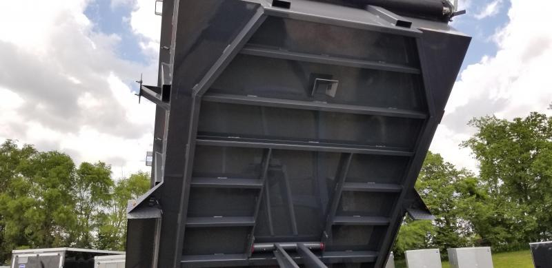 2019 LAMAR 83X14 LOPRO BUMPER DUMP TRAILER